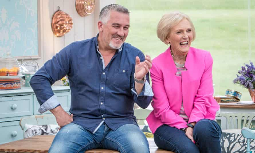 Paul Hollywood and one of 'the girls', Mary Berry.