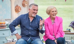 Bake Off judges Paul Hollywood and 'anti-feminist' Mary Berry.