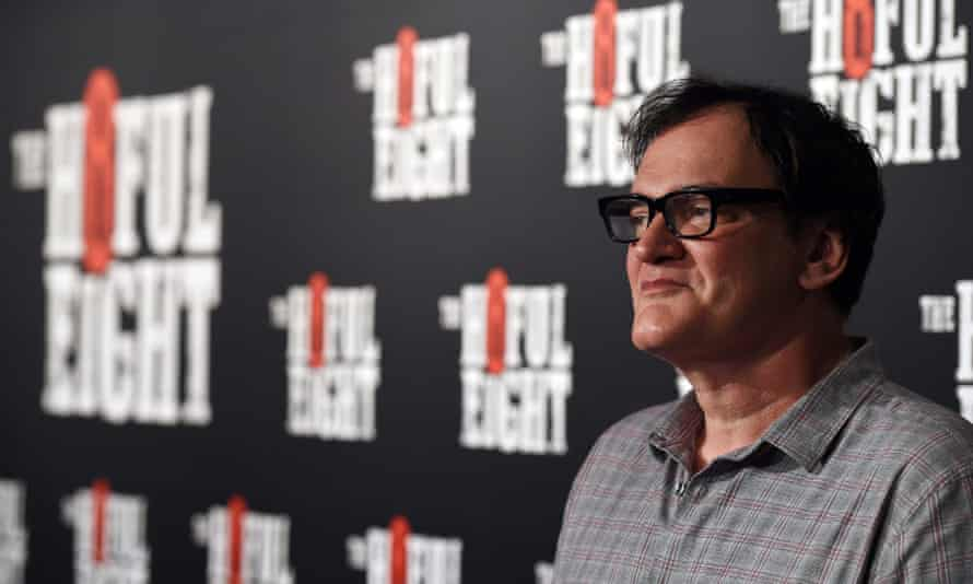US director Quentin Tarantino poses for a photograph at the Australian premiere of his film The Hateful Eight in Sydney, Australia, 13 January 2016.