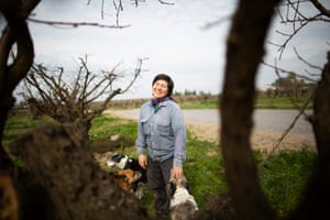 Masumoto on her family farm, where they grow peaches, nectarines, apricots and grapes.