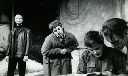 Rita Tushingham in the Royal Court stage version of The Knack, by Ann Jellicoe, 1962.