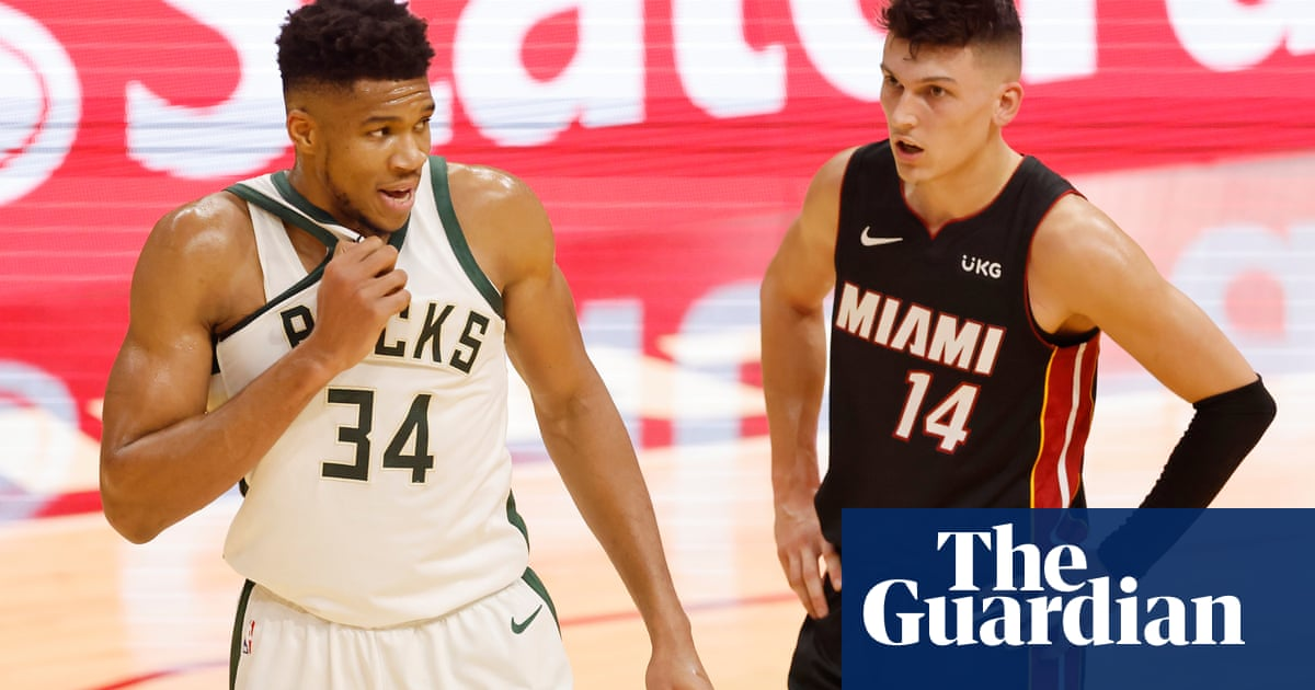 Milwaukee Bucks set NBA record for three-pointers in 47-point win at Miami