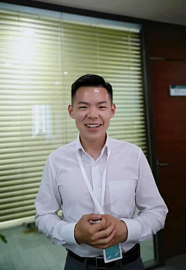 """Logan Wang, 27, works at a private company in Beijing. He writes of the sweltering summer across the northern hemisphere: """"I could not help but relate it to the scenarios of horrid films such as 2012 and The Day After Tomorrow."""""""