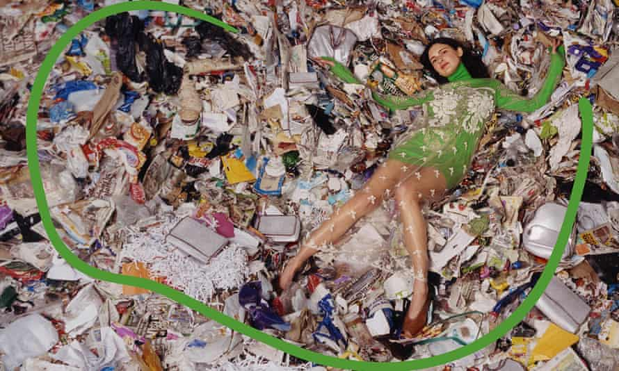 A Stella McCartney campaign shot in a Scottish landfill site to raise awareness of waste and over-consumption.