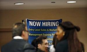 now hiring jobs unemployment