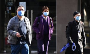 Many residents in Melbourne are already wearing face masks ahead of the mandatory law that comes into force to wear face coverings from 11.59pm on Wednesday.