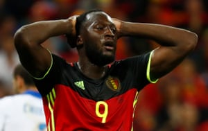 Another missed oppportunity for Romelu Lukaku.