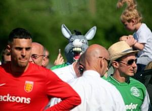 Guernsey fans enjoy their day