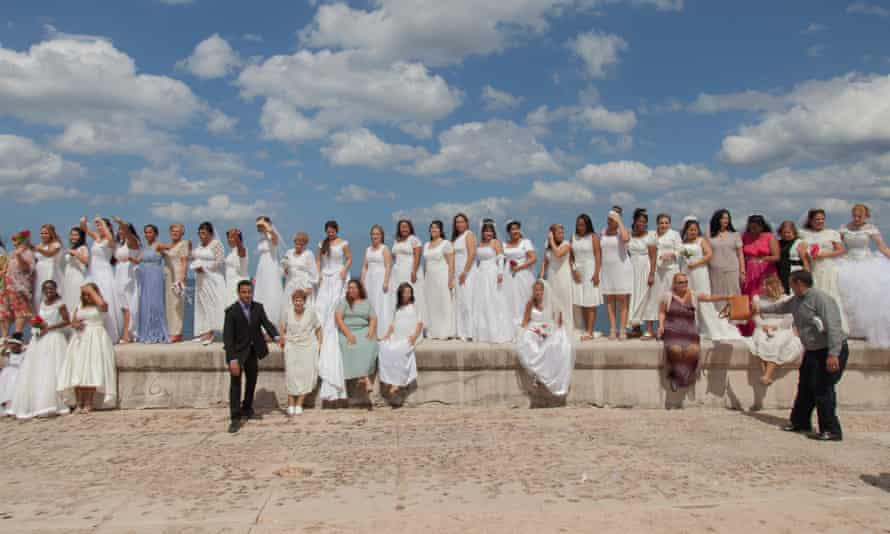 Evangelicals protest against gay marriage on the Malecón in Cuba.