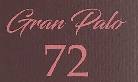 'Distractingly flavourful': Solkiki's Gran Palo 72%