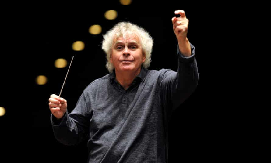Sir Simon Rattle conducts the LSO