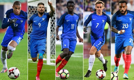 Who should play up front for France? It's time for Didier Deschamps to decide