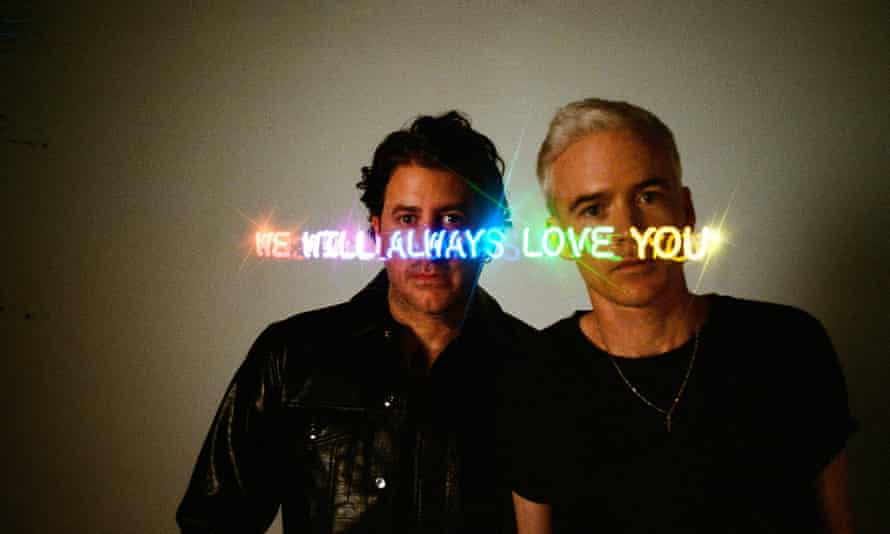 The Avalanches' Tony Di Blasi, left, and Robbie Chater