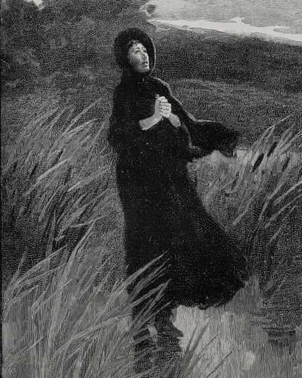 One of Edmund Garett's illustrations to Jane Eyre.