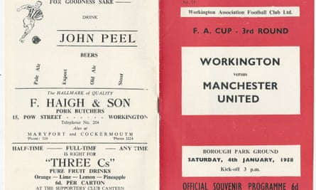The matchday programme from an FA Cup tie that, at one stage, appeared set to become one of the greatest shocks in the competition's history