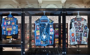 Fans contribute their memorabilia to the exhibition in Birmingham.