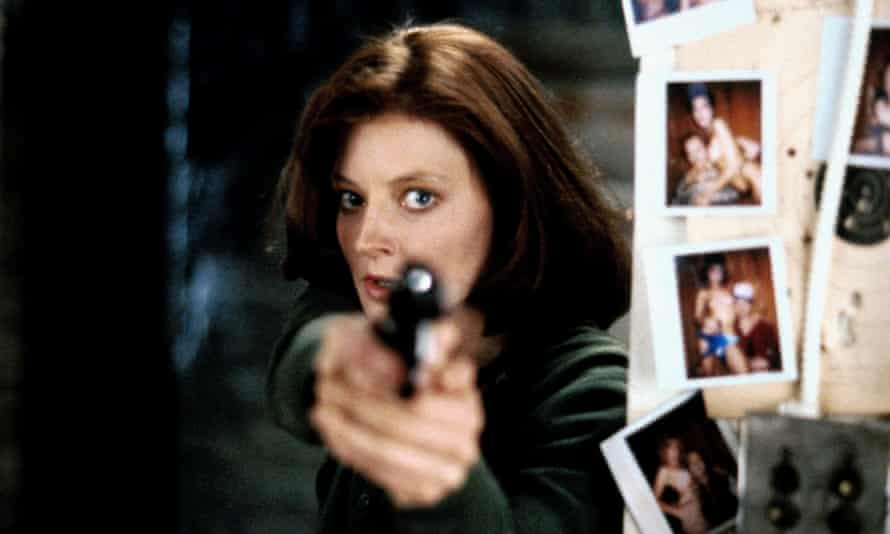 Hello Clarice: Jodie Foster in Silence of the Lambs.