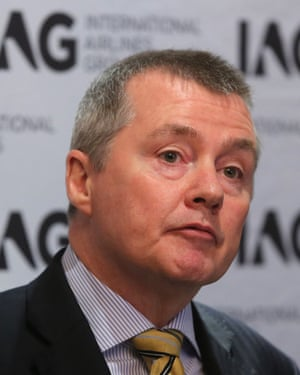 IAG's Willie Walsh.