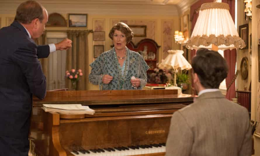 David Haig, Meryl Streep and Simon Helberg in Florence Foster Jenkins.