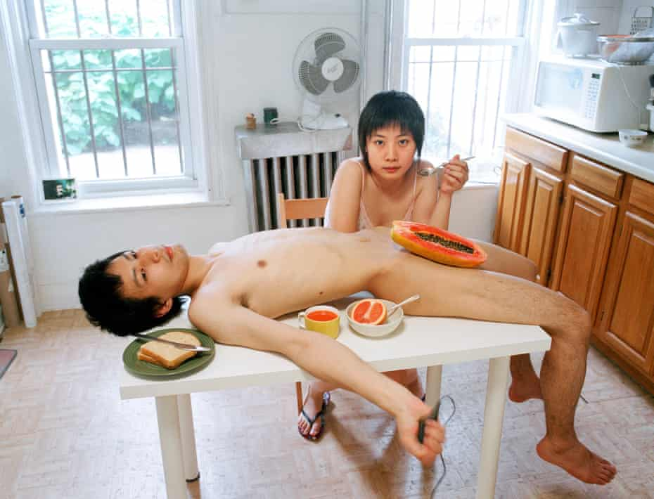 Start your day with a good breakfast together, 2009, by Pixy Liao.