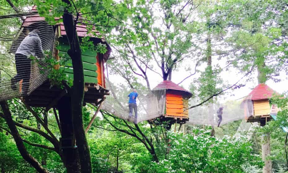 Up the tree … the new Wow Park in Billund, Denmark