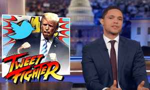 'Donald Trump calling someone the husband from hell is pretty amazing' ... Trevor Noah