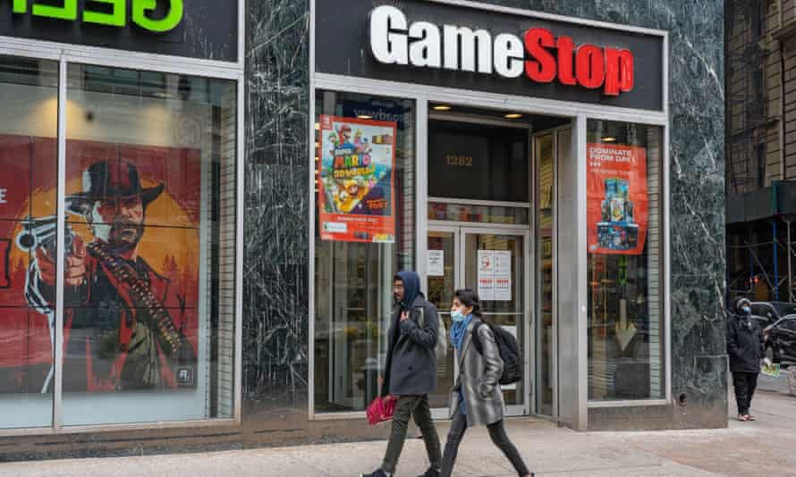 GameStop, the video game chain at the centre of a recent trading war.