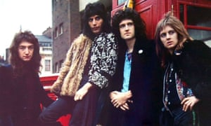 'I always thought we showed promise' … John Deacon, Freddie Mercury, Brian May and Roger Taylor of Queen.