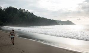 A wild beach near Drake Bay