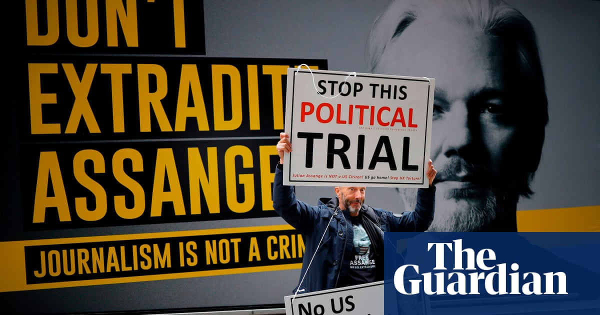 Julian Assange warned by judge after outburst during extradition trial