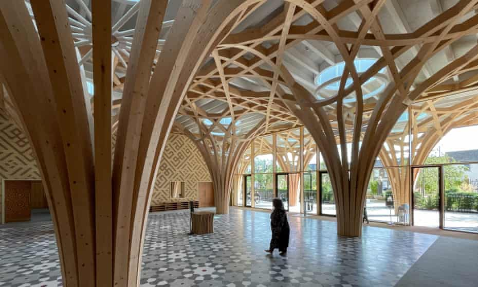 Entrancing … Cambridge central mosque by Marks Barfield.
