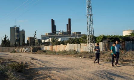 Gaza's solitary power plant for its 2 million residents, which has been running at a fraction of its capacity