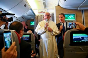 Rome, Italy Pope Francis addresses journalists