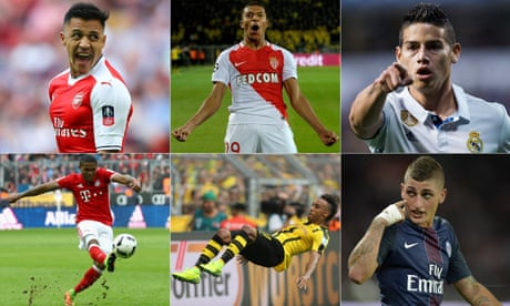 Europe's top transfer targets: from Mbappé to Aubameyang via Verratti | Jacob Steinberg