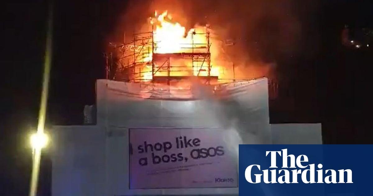 Koko Camden: blaze strikes renowned London music venue