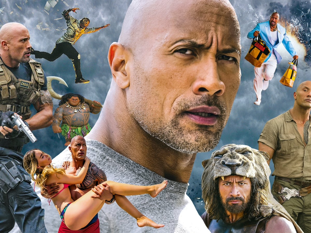 Let S Rock Why Dwayne Johnson Is The New Schwarzenegger Dwayne Johnson The Rock The Guardian