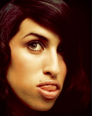 Amy Winehouse by Phil Knott, 2003