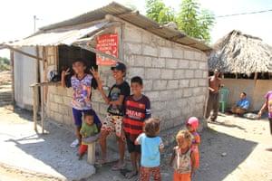 A Timor-Leste family in Oecusse.