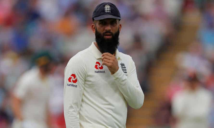 Moeen Ali, during August's Edgbaston Ashes Test, turned down a place on England's tour of South Africa.