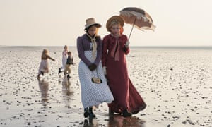 Beside the seaside … Rose Williams and Kate Ashfield in Sanditon.