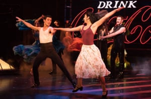 Cinderella story … Strictly Ballroom the Musical, with Jonny Labey and Zizi Strallen.