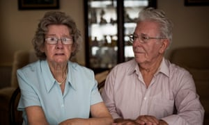 Peter and Elizabeth Skelton … 'We don't know why it took them so long.'
