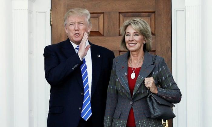 Betsy Devos Teaches Value Of Ignorance >> Trump S Choice For Education Secretary Raises Fears In Detroit Us