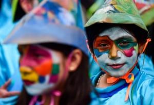 "The ""Carnavalito"" children's parade"
