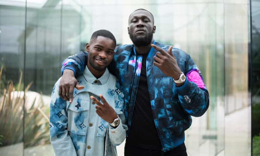 The voices of modern England … Dave and Stormzy.