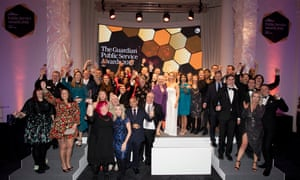 The Guardian Public Service Awards winners 2019, held in central London 26 November 2019
