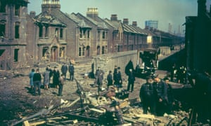 London, July 1943. 'Communal spirit' came to the fore during the blitz, argues Rutger Bregman