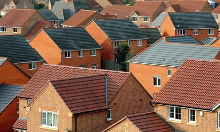 A housing estate in South Derbyshire
