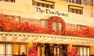 The Dorchester Hotel on Park Lane London