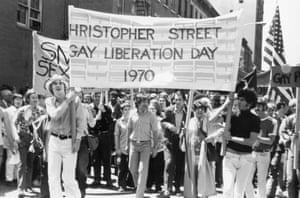 Christopher Street Liberation Day, New York, 1970.